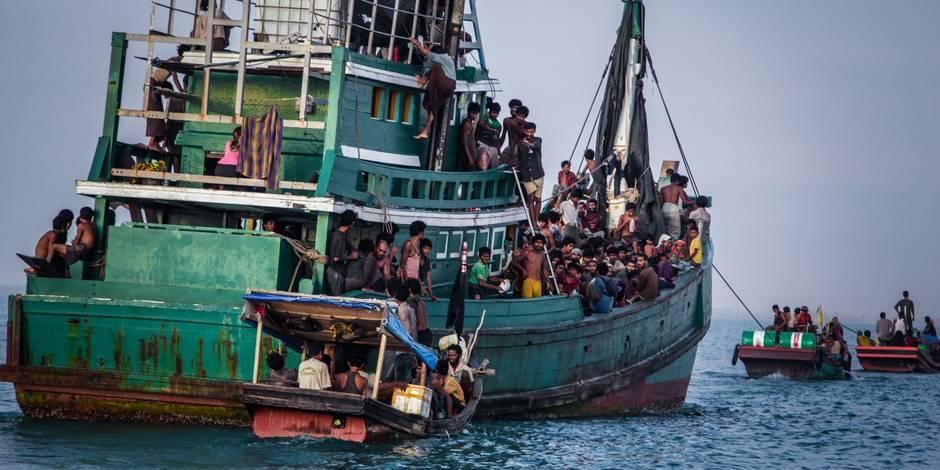 Des passeurs payés par les garde-côtes pour se dérouter vers l'Indonésie - La Libre