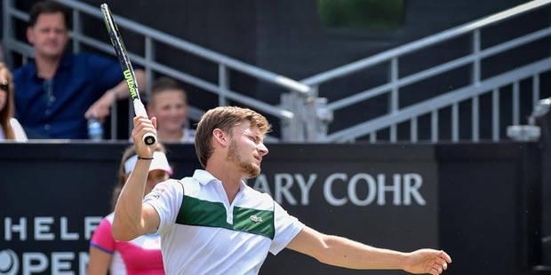 Malgré deux balles de match, Goffin quitte le tournoi du Queen's - La Libre