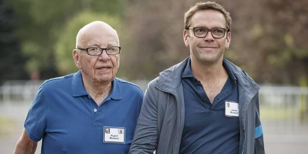 Rupert Murdoch va céder les rênes de Fox à son fils James le 1er juillet - La Libre