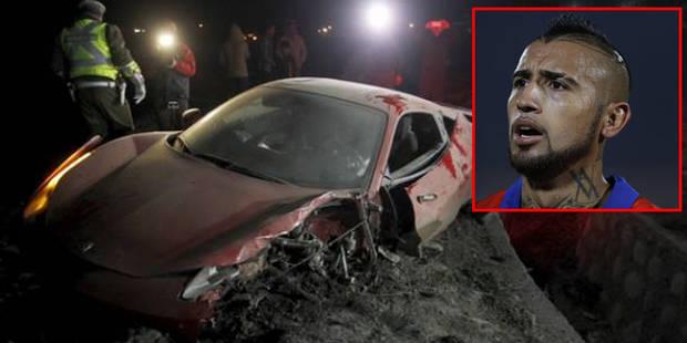 Alcool, accident, arrestation: Arturo Vidal crée la polémique en pleine Copa América - La Libre