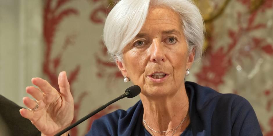 """Christine Lagarde : """"Tout le monde gagnera à une réduction des inégalités excessives"""""""