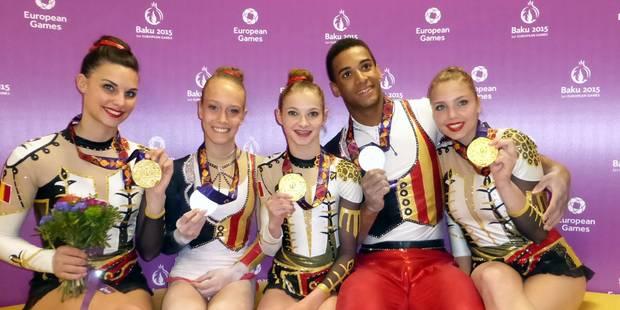 Jeux européens: encore une médaille d'or pour la Belgique - La Libre