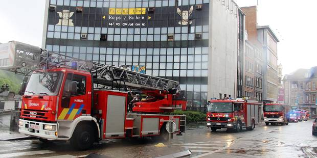 Namur: direction la caserne flambant neuve pour les pompiers - La Libre