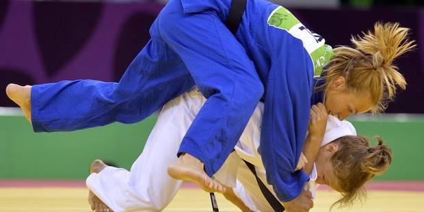 Jeux européens : Charline Van Snick, championne de judo - La Libre