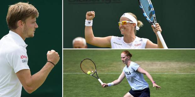 Wimbledon: Goffin et Flipkens qualifiés, Van Uytvanck éliminée - La Libre