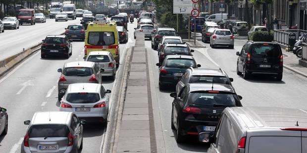 Des problèmes de circulation persistent sur la petite ceinture de Bruxelles - La Libre