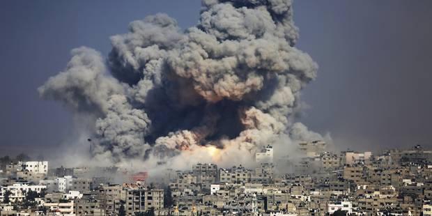 Israël durant l'opération à Gaza en 2014 - La Libre