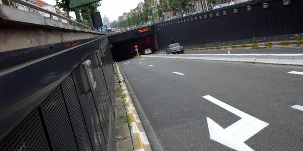 Fermeture du tunnel Léopold II ? Pascal Smet temporise - La Libre