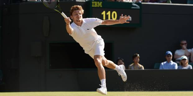 Wimbledon: Wawrinka s'impose à l'expérience face à Goffin (7-6; 7-6; 6-4) - La Libre