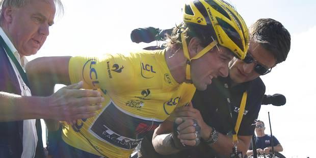 Tour de France: Cancellara abandonne après sa chute - La Libre