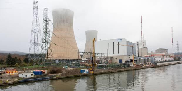 Incident technique autour du réacteur Tihange 3 - La Libre