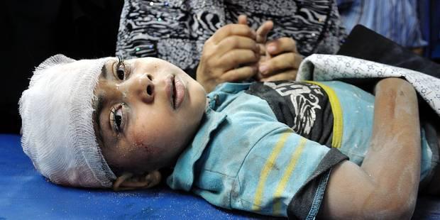 Les enfants de Gaza n'ont pas d'abris sûrs face à Tsahal - La Libre