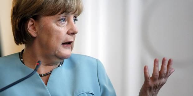 """Grèce: une réduction de la dette est """"hors de question"""", répète Merkel - La Libre"""