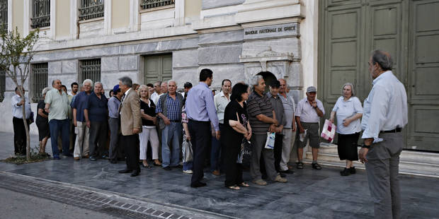 """""""En Grèce, il ne s'agit plus, à ce stade, de régler les comptes du passé"""" - La Libre"""