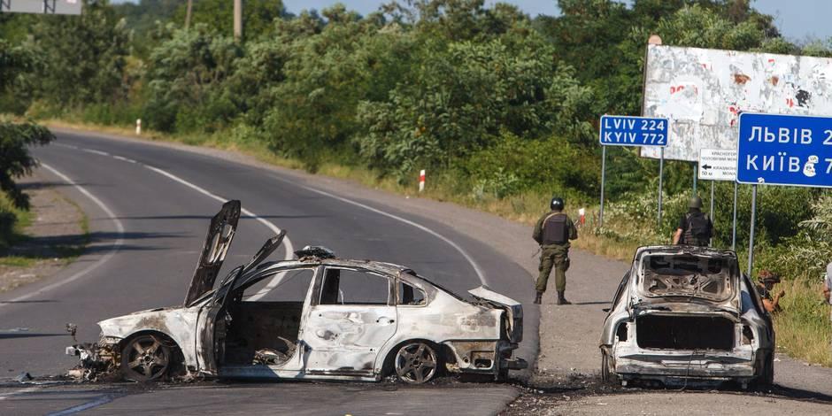 Ukraine: au moins 2 morts dans une fusillade entre ultranationalistes et forces de l'ordre