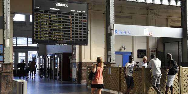 Grève sur le rail: neuf trains sur dix circulent - La Libre