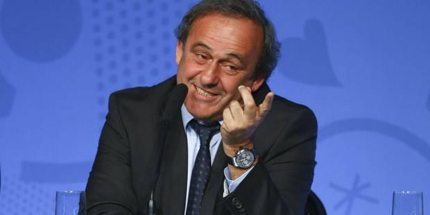 Michel Platini décidera dans les 15 jours s'il est candidat à la présidence de la Fifa - La Libre