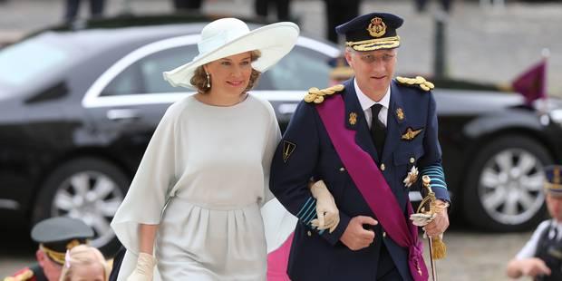 1.500 personnes ont assisté au Te Deum en présence de la famille royale (PHOTOS) - La Libre
