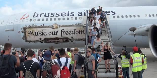 Tomorrowland a commencé dans les airs: l'ambiance en vidéo - La Libre