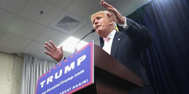 USA: Donald Trump garde son avance dans les sondages en dépit des scandales - La Libre