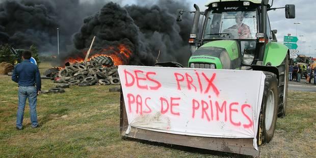 La tension monte entre agriculteurs européens - La Libre