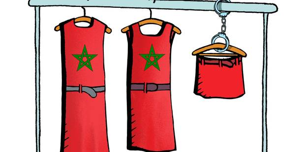 Jupes: la société marocaine se radicalise - La Libre