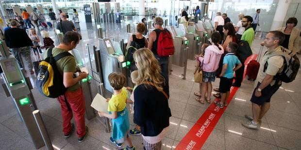 Fin de la grève du zèle à Brussels Airport - La Libre