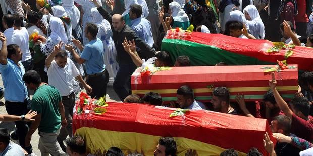 Turquie: 390 rebelles kurdes tués en deux semaines de raids - La Libre