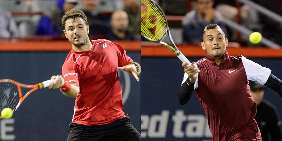 Tennis: les propos très crus de Kyrgios au sujet de la compagne de Wawrinka