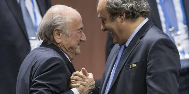 Blatter affirme que Platini l'a menacé - La Libre
