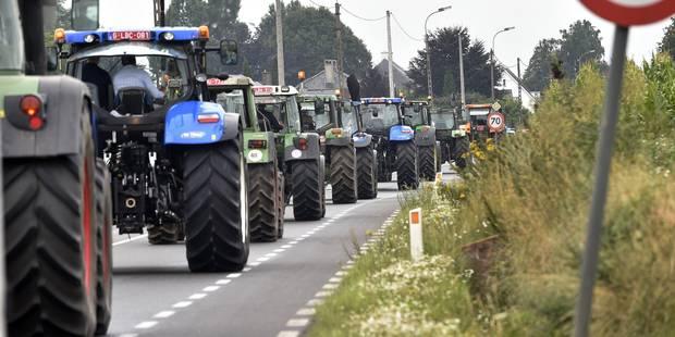 Agriculteurs en colère: de nouvelles actions prévues mardi - La Libre
