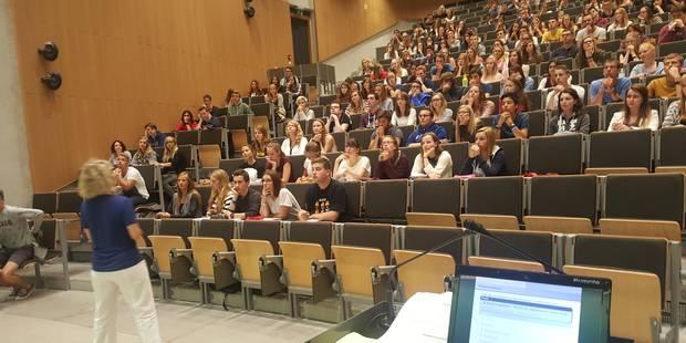 Université: une rentrée anticipée à Namur - La Libre
