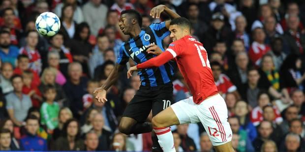 Le FC Brugeois assommé par Fellaini à la 94e minute à Manchester United (3-1) - La Libre