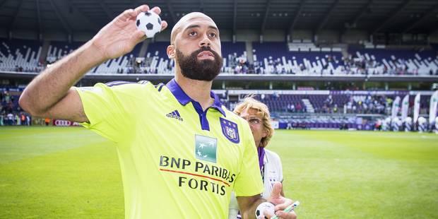 Vanden Borre arrête sa carrière: retour sur son rapport amour-haine avec Anderlecht - La Libre