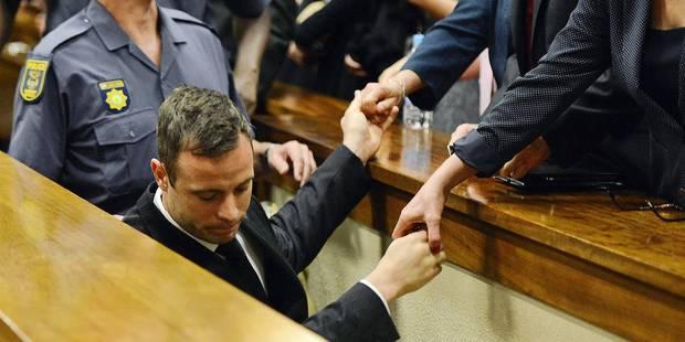 Libération conditionnelle refusée à Oscar Pistorius - La Libre