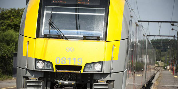 Le trafic ferroviaire fortement perturbé entre Bruxelles et Gand - La Libre