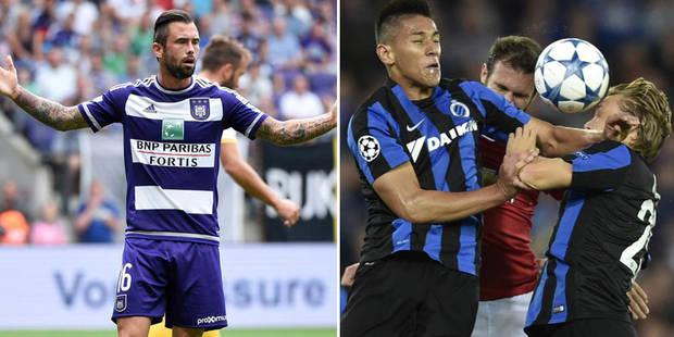 Europa League: Tottenham et Monaco pour Anderlecht, Naples avec Bruges! - La Libre