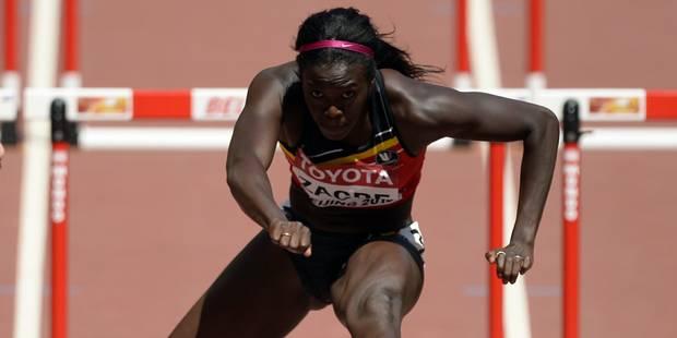 Mondiaux: Anne Zagré éliminée en demi-finales pour 2/100e de seconde - La Libre