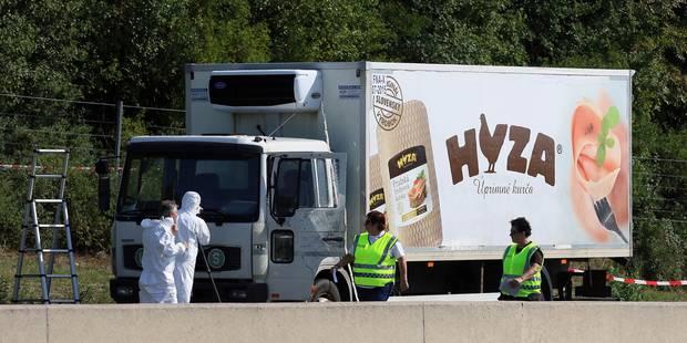 Tragédie en Autriche: quatre suspects devant la justice hongroise - La Libre