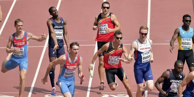 Mondiaux d'athlétisme : la Belgique termine 5ème - La Libre