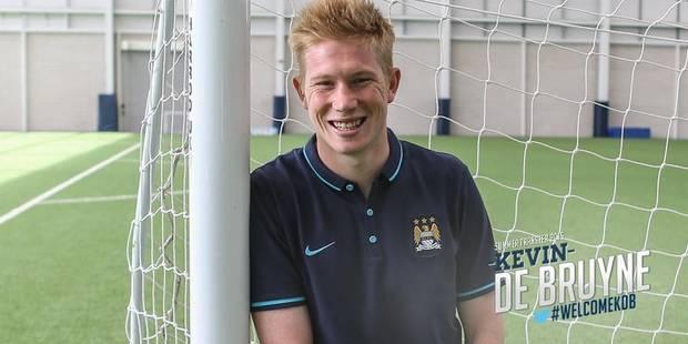 Manchester City officialise l'arrivée de De Bruyne - La Libre