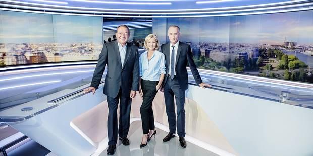 Le JT de TF1 change de décor - La Libre