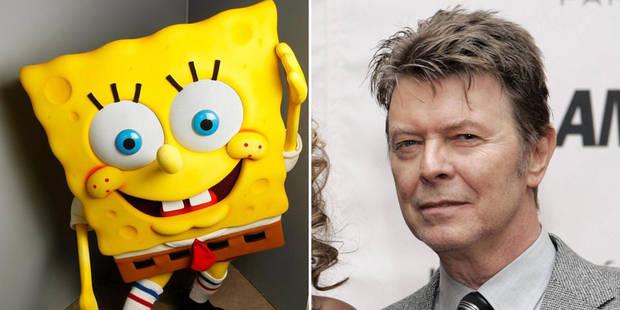 David Bowie, Bob l'Éponge et une idée inattendue - La Libre