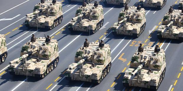 Chine: intimider les ennemis de l'extérieur et de l'intérieur - La Libre