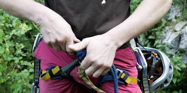 Comblain-la-Tour: un adolescent décède lors d'un stage d'escalade - La Libre