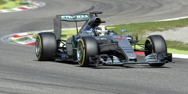 GP de Monza: encore une pole pour Lewis Hamilton - La Libre