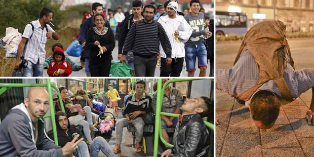 """Les migrants arrivent par milliers en Autriche et en Allemagne, la crise va """"durer"""" (Photos + Vidéo) - La Libre"""