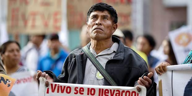 Etudiants disparus au Mexique: pourquoi la version officielle ne tient pas la route - La Libre