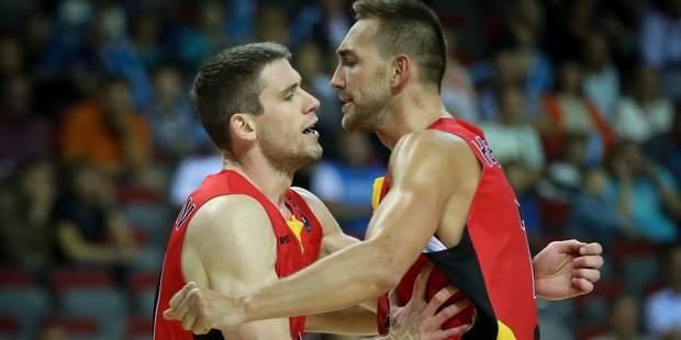 Les Belgian Lions battent l'Ukraine et filent en 1/8e de finale de l'Euro - La Libre
