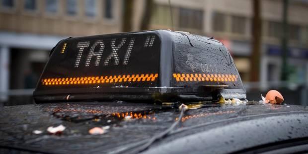 Des courses de taxi à moitié prix pour dénoncer la concurrence d'Uber - La Libre